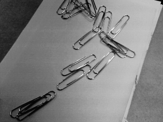 sixteen paper clips