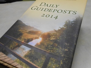 Daily Guideposts 2014 book