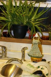 Kitchen sink altar