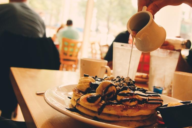 Pancakes at Yolk