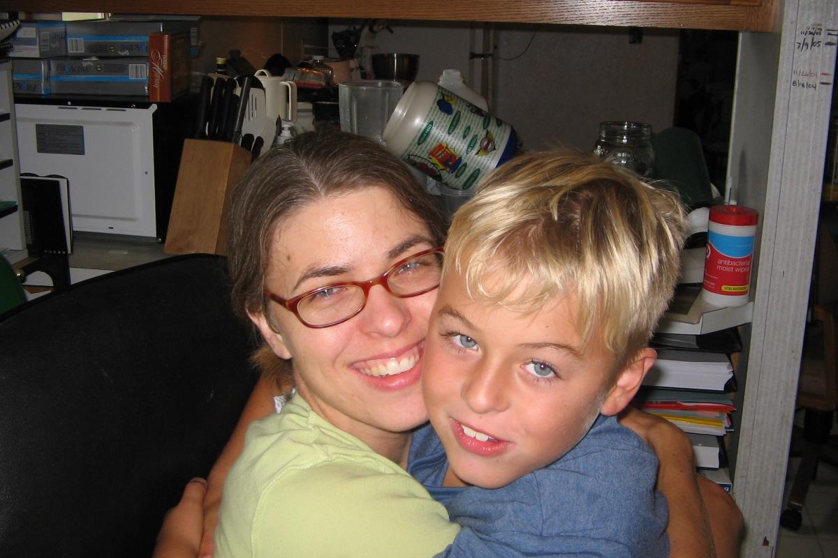Me and Derek 2005