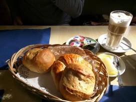 Baked goods from Hornli bakery in Switzerland