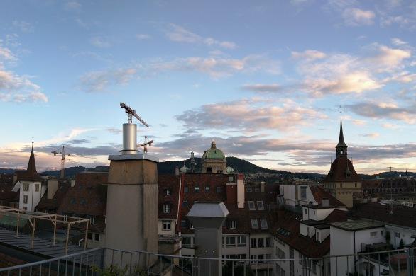 Bern rooftops